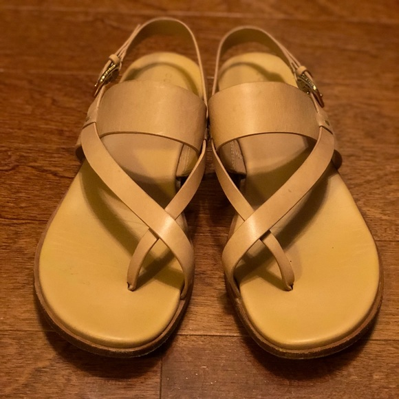 bfe4692e74a Cole Haan Shoes - Cole Haan Anica thong sandal in nude leather